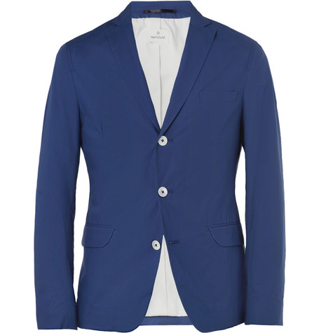 Hartford Slim-Fit Unstructured Cotton Blazer