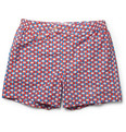 Chucs - Positano Printed Short-Length Swim Shorts