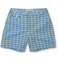 Chucs - Positano Printed Mid-Length Swim Shorts