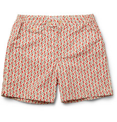 Chucs Positano Printed Mid-Length Swim Shorts