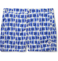 Robinson les Bains - Oxford Short-Length Printed Swim Shorts
