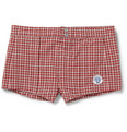 Robinson les Bains - Capri Short-Length Plaid Swim Shorts