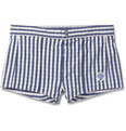 Robinson les Bains - Capri Short-Length Gingham Swim Shorts