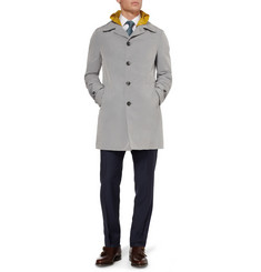 Canali Hooded Rain Coat