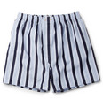 Derek Rose Striped Cotton Boxer Shorts