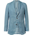 Richard James - Spirit Slim-Fit Linen Suit Jacket