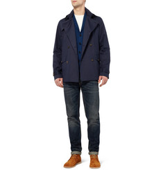 Richard James Double-Breasted Cotton-Twill Jacket