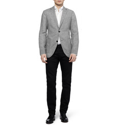 Richard James Spirit Unstructured Check Linen Blazer