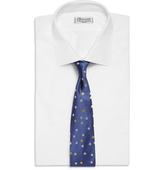Richard James Polka-Dot Silk Tie