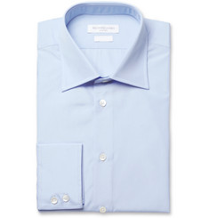 Richard James Light Blue Cotton-Poplin Shirt