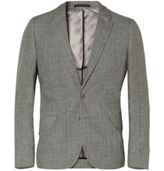 PS by Paul Smith Grey Slim-Fit Linen Suit Jacket