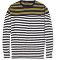 PS by Paul Smith - Striped Cotton Crew Neck Sweater