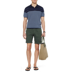 PS by Paul Smith Striped Cotton Polo Shirt