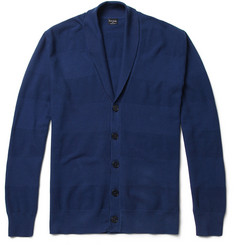 PS by Paul Smith Textured-Knit Cotton Cardigan
