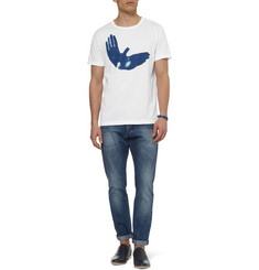 PS by Paul Smith Printed Cotton-Blend Jersey T-shirt