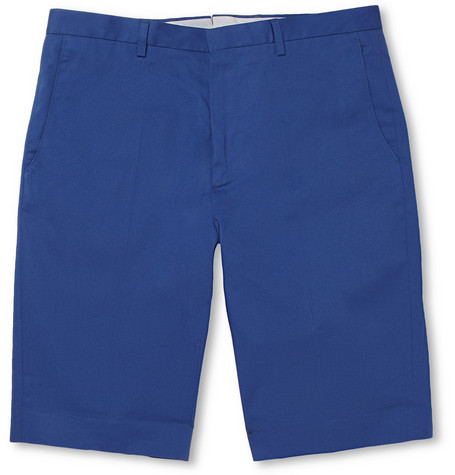 PS by Paul Smith Straight-Leg Cotton Shorts