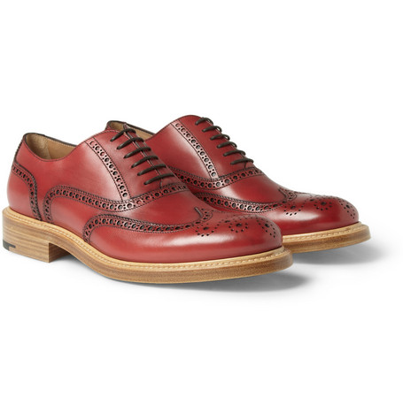O'Keeffe Milo Leather Wingtip Brogues