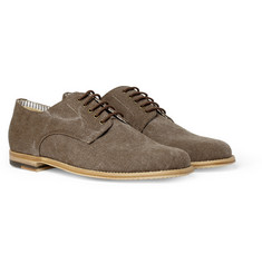 Armando Cabral Bolama Canvas Derby Shoes