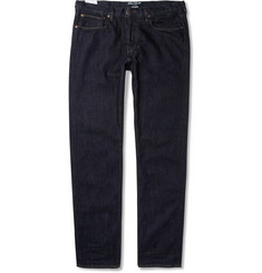 Red Ear Straight-Leg Washed Selvedge Denim Jeans
