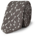 Marwood - Wave Woven-Cotton and Silk-Blend Tie