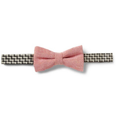 Marwood Slub Silk Bow Tie
