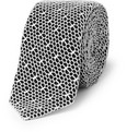 Marwood Mesh Lace Nautical Silk Tie