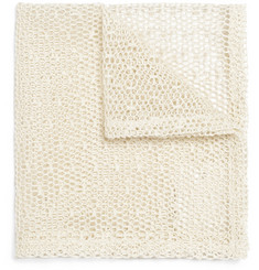 Marwood Mesh Lace Pocket Square