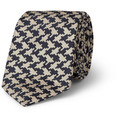 Marwood Houndstooth Woven-Silk Tie