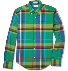 Gant Rugger Madras-Check Cotton Shirt