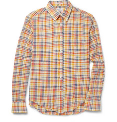 Gant Rugger Textured Cotton and Linen-Blend Shirt