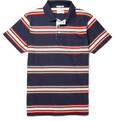 Gant Rugger - Striped Cotton Polo Shirt