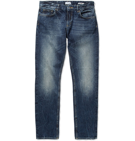 Gant Rugger Slim-Fit Washed-Denim Jeans