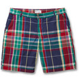 Gant Rugger - Madras-Check Cotton Shorts