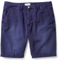 Gant Rugger - Straight-Leg Cotton and Linen-Blend Chino Shorts