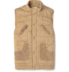 Folk Jankel Quilted Cotton Gilet