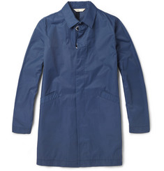 Folk Dury Cotton-Blend Rain Coat