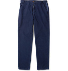 Folk Washed-Cotton Trousers