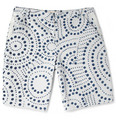 Folk Tomaz Spot-Print Cotton-Canvas Shorts