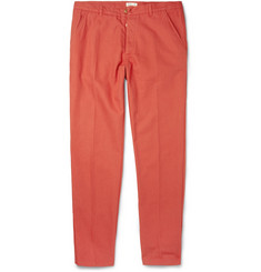 Folk Slim-Fit Cotton-Canvas Trousers