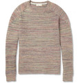 Folk - Tuck Ribbed Knitted Pima-Cotton Sweater