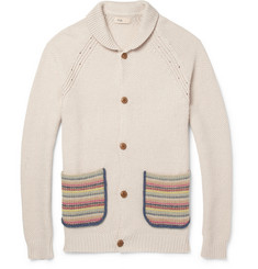 Folk Chunky Gibbons Knitted Cardigan