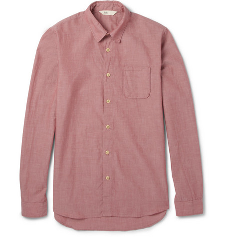Folk Cotton Oxford Shirt