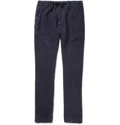 Hartford Troy Straight-Leg Linen Trousers