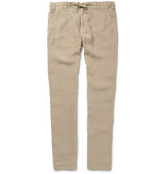 Hartford Straight-Leg Linen Trousers