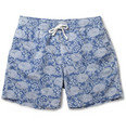 Hartford - Printed Mid-Length Swim Shorts