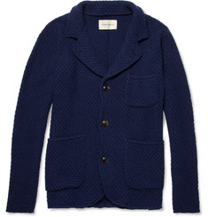 Oliver Spencer Basket-Weave Buttoned Cardigan