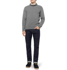 Oliver Spencer Ribbed Rollneck Sweater