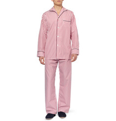 Turnbull & Asser Striped Cotton Pyjamas