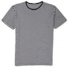 Sunspel Striped Cotton T-Shirt