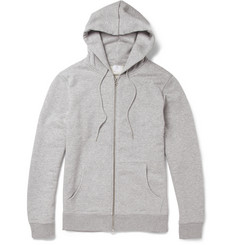 Sunspel Loopback-Cotton Hoodie